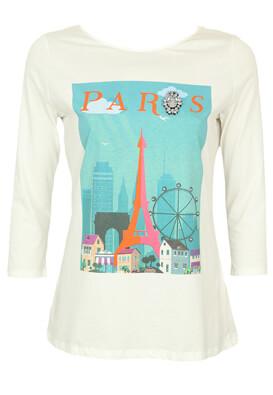 Bluza Orsay Paris White