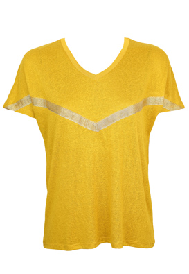 Tricou Only Kinga Dark Yellow