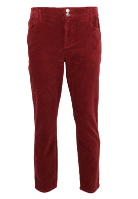 Pantaloni Only Donna Dark Red