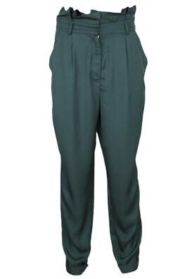 Pantaloni Only Elisa Dark Green