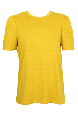 Tricou Only Fiona Dark Yellow
