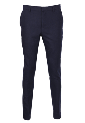 Pantaloni de stofa Selected Donald Dark Blue