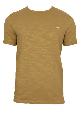 Tricou Selected Don Beige