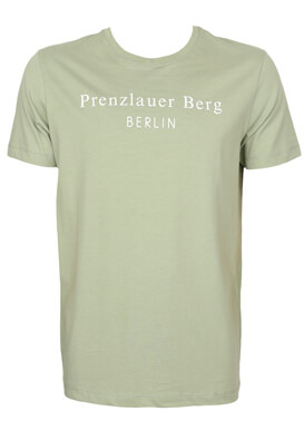 Tricou Selected Gerard Light Green