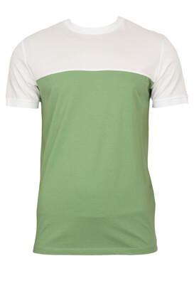 Tricou Selected Hugo Light Green