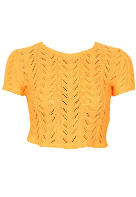 Tricou Bershka Gina Orange