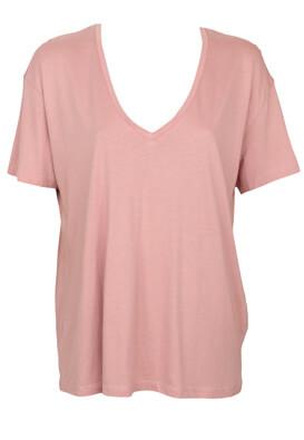 Tricou Bershka Dasia Pink