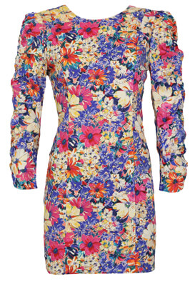 Rochie ZARA Floral Colors
