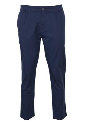 Pantaloni de stofa Only and Sons Amadeus Dark Blue