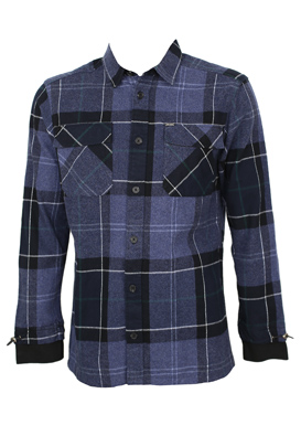 Camasa Only and Sons London Dark Blue