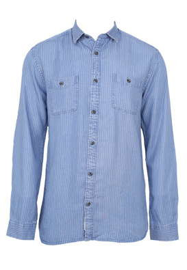 Camasa Only and Sons Elliot Light Blue