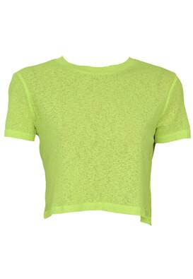 Tricou Bershka Amelia Light Green