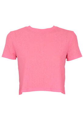 Tricou Bershka April Pink