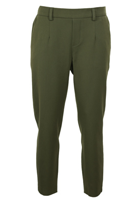 Pantaloni Object Dasia Dark Green