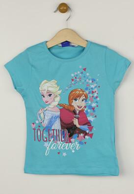 Tricou Disney Elsa Light Blue