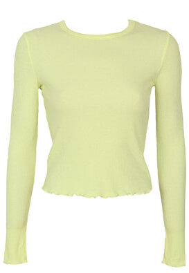 Bluza Bershka Victoria Yellow