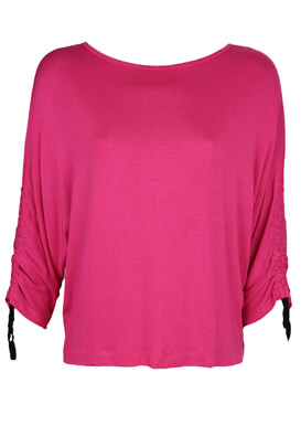 Bluza Stradivarius Betty Dark Pink