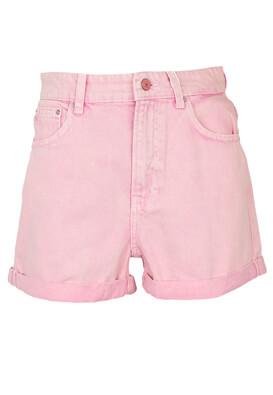 Pantaloni scurti Bershka Yasmin Light Pink