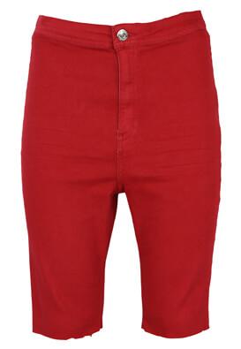 Pantaloni scurti Bershka April Red