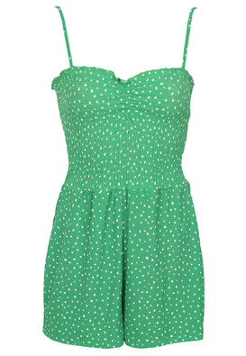 Salopeta Bershka Holly Green