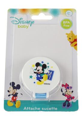 Clips suzeta Disney Mickey Mouse White