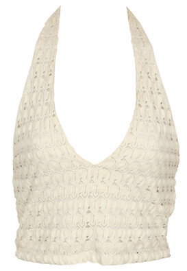 Top Bershka Sylvie White