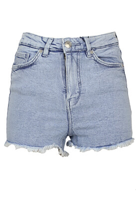 Pantaloni scurti Bershka Florence Light Blue