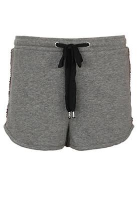 Pantaloni scurti Bershka Gabriella Grey
