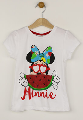 Tricou Disney Minnie White