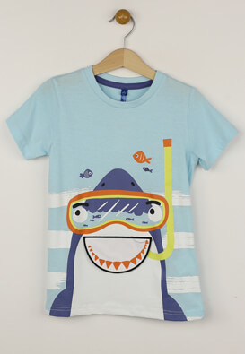 Tricou Lenny Sky Riley Light Blue