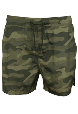 Pantaloni scurti de baie Kiabi Jerry Dark Green