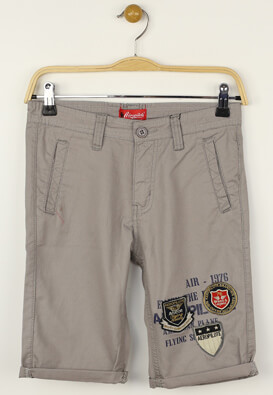 Pantaloni scurti Aeropilote Anthony Light Grey