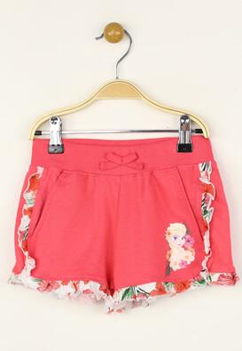 Pantaloni scurti Disney Frozen Dark Pink