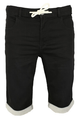 Pantaloni scurti Kiabi Aaron Black