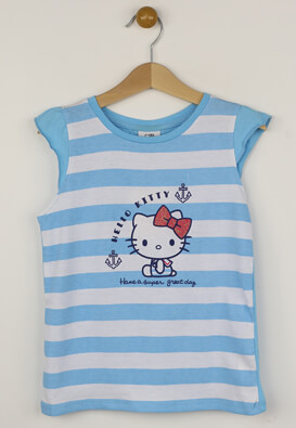 Tricou Hello Kitty Tara Blue