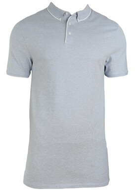 Tricou polo Kiabi Robert Light Blue