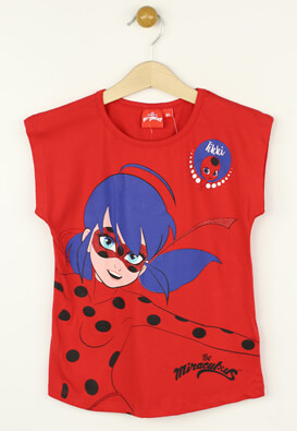 Tricou Miraculous Marinette Red