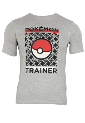 Tricou Pokemon Lukas Grey