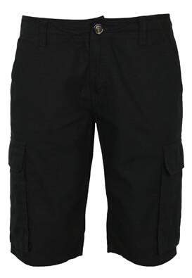 Pantaloni scurti Kiabi Kirk Black