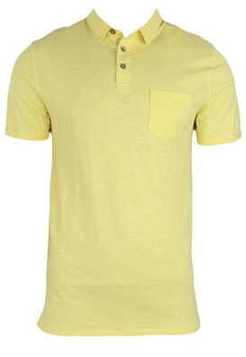 Tricou polo Kiabi Allan Yellow