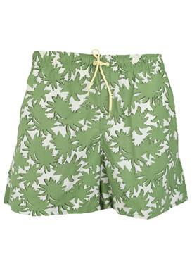 Pantaloni scurti de baie Kiabi Aldo Green