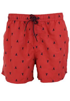 Pantaloni scurti de baie Kiabi Albert Red