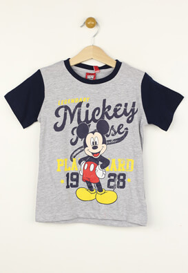 Tricou Disney Mickey Mouse Grey