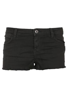 Pantaloni scurti Bershka Selena Black