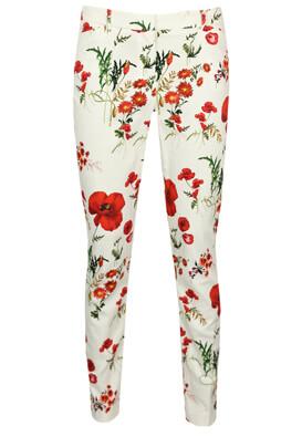 Pantaloni Orsay Floral White
