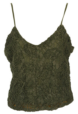 Top Jennyfer Roxanne Dark Green