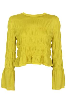 Bluza ZARA Betty Yellow