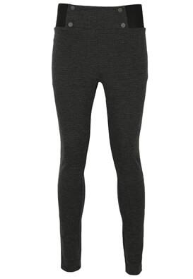 Pantaloni ZARA Georgia Dark Grey