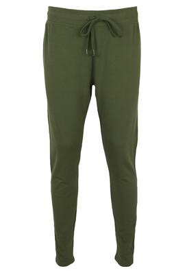 Pantaloni sport Lefties Lara Dark Green
