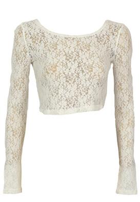 Bluza Glamorous Abbie White